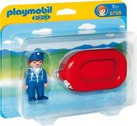 Playmobil 123 - Mann im Schlauchboot (6795)