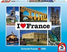 Schmidt Spiele I love France (1000 Teile)