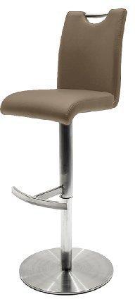 MCA-furniture Barhocker Alesi (42 x 91-116 x 51 cm)