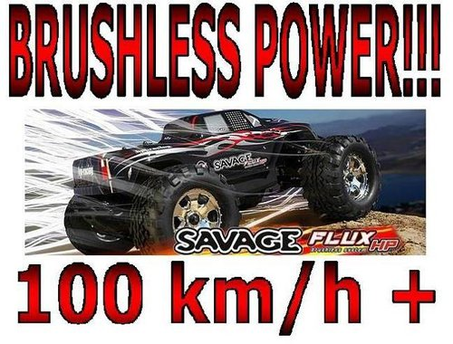 HPI Monstertruck Brushless Savage Flux