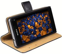 Mumbi Ledertasche Bookstyle (Sony Xperia Z1 Compact)