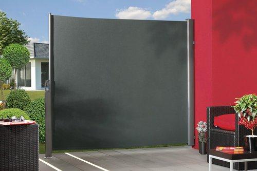 TraumGarten Seitenmarkise 348 x 180 cm anthrazit