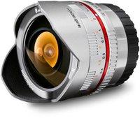 Walimex pro 8mm f2.8 Fish-Eye (silber) [Fuji X-Pro]