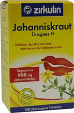 Zirkulin Johannis-Kraut Dragees H (120 Stk.)