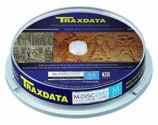 Traxdata M-Disc DVD CAKE PRINTABLE (90YDVCK10PTRA)