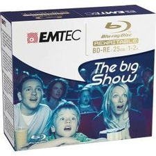 Emtec Blu-ray Disc 25GB 5er JewelCase (ECOBDRE2552JC)