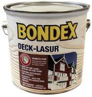 Bondex Deck-Lasur 2,5 l polarweiß