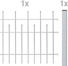 GAH Madrid Metall-Zaun-Anbauset BxH: 2 x 0,5 m