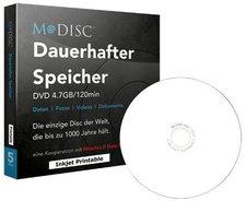 Millenniata DVD M-Disc 4,7GB 120min 4x 5er
