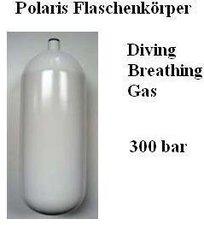 Polaris Diving Tauchflasche Stahl 12 L 300 bar