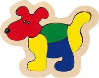 goki Einlegepuzzle Hund (GK051)