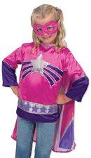 Melissa & Doug Mädchen Superhelden-Kostüm