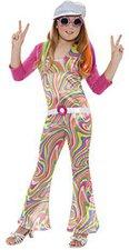 Smiffys Mädchen Kostüm Groovy Glam