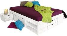 Möbel-Eins Till Funktionsbett weiß 140x200 cm