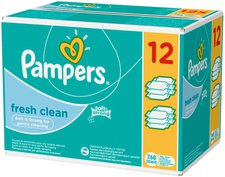 Pampers Feuchttücher Fresh Clean (64 St.)
