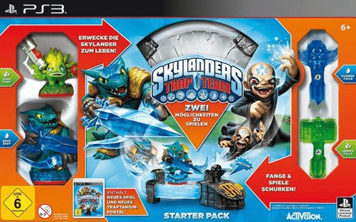 Skylanders: Trap Team - Starter Pack (PS3)