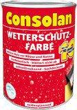 Consolan Wetterschutz-Farbe 2,5 l dunkelbraun