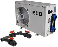 time4wellness Eco-Pool-Wärmepumpe mit Bypass 3kW