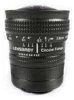 Lensbaby Circular Fisheye 5.8mm f3.5 [Nikon]