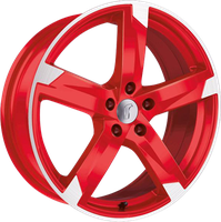 Rondell Z 01RZ (8x19) Racing-Rot poliert