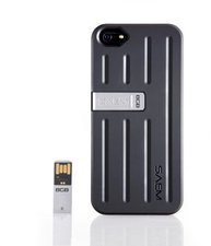 Veho SAEM S7 Case schwarz (iPhone 5/5S)
