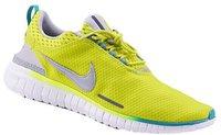Nike Free Breathe venom green/metallic silver/white/turbo green
