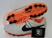 Nike Tiempo Genio LTR AG desert sand/black/atomic orange