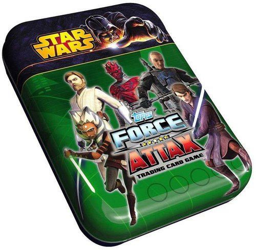 Topps Star Wars Force Attax Serie 5 Trading Card Mini Tin
