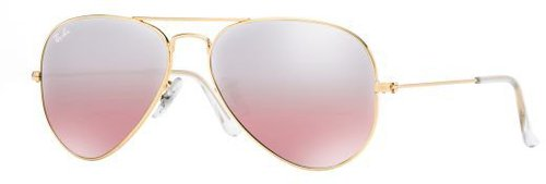 Ray Ban Aviator Large Metal RB3025 001/3E (gold rose/gold gradient mirror)