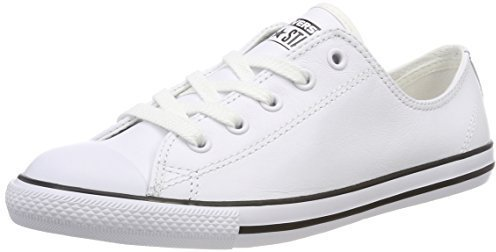 Converse Chuck Taylor All Star Dainty Leather Ox - white (537108C)