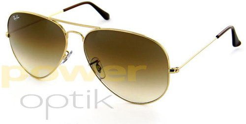 Ray Ban Aviator Large Metal RB3025 001/58 (arista/polarized crystal green)