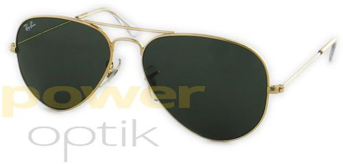 Ray Ban Aviator Large Metal RB3025 W3234 (arista gold/grey green)