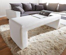 DeLife Sitzbank Otello (120 x 48 cm) weiß