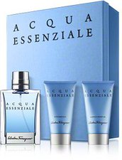 Salvatore Ferragamo Acqua Essenziale Set (EdT 50ml + SG 50ml + AS 50ml)