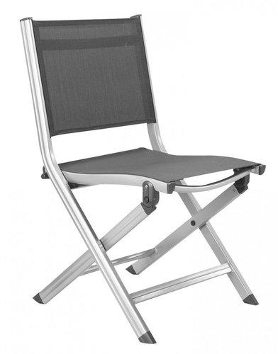Kettler Basic Plus Balkon-Klappstuhl silber/anthrazit