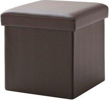 Meise Möbel Cube Hocker braun