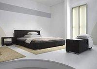 Meise Möbel Polsterbett Isa braun 160x200 cm