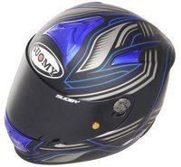 Suomy SR Sport Racing Matt blau
