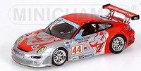 Minichamps Porsche 911 GT3 RSR Flying Lizard Motorsport Law/Neiman Long Beach GP 2007