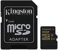 Kingston microSDHC 16GB Class 10 UHS-I (SDCA10/16GB)
