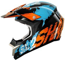 Shark SX-2 Freak schwarz/orange/blau
