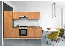 Respekta Küchenzeile Basic Buche (270 cm)
