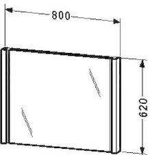 Duravit 2nd floor Spiegel mit Beleuchtung (2F964706565)