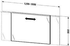 Duravit X-Large Spiegel beleuchtet (XL729705353)