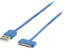 Valueline Lade-/Datenkabel blau (iPhone/iPod/iPad)