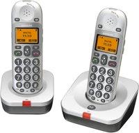 Audioline BigTel 202 Duo silber