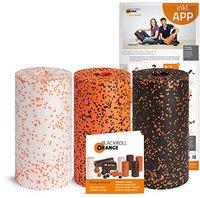 Blackroll Orange 3er Set Standard, Med und Pro