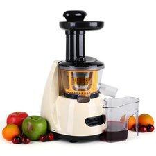 Klarstein Fruitpresso Slow Juicer Cream