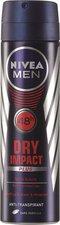 NIVEA FOR MEN Spray Dry Impact Plus (150 ml)