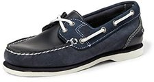 Timberland Women's Classic Amherst 2-Eye Boat Shoe (26609) Navy